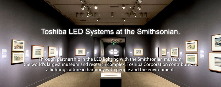 Toshiba LED Systems at the Smithsonian.